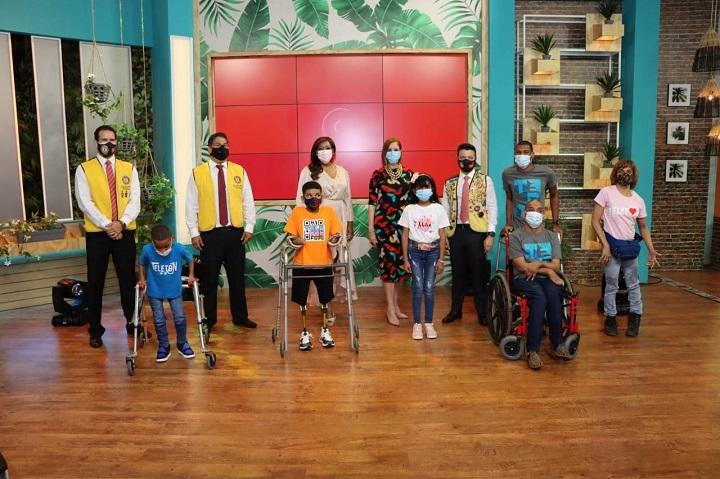 Club Activo 20-30 y Senadis se unen para llevar  alivio a las personas con discapacidad