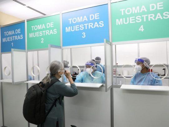 En aeropuerto de Tocumen detectan 6 personas con Covid-19, procedentes de varios países