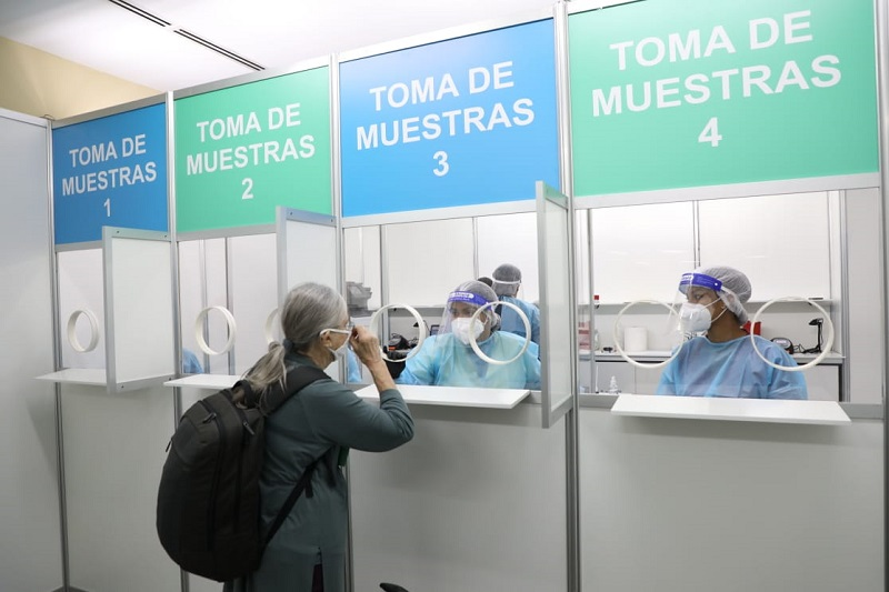 Una veintena de viajeros de Suramérica sancionados por incumplir decreto 260