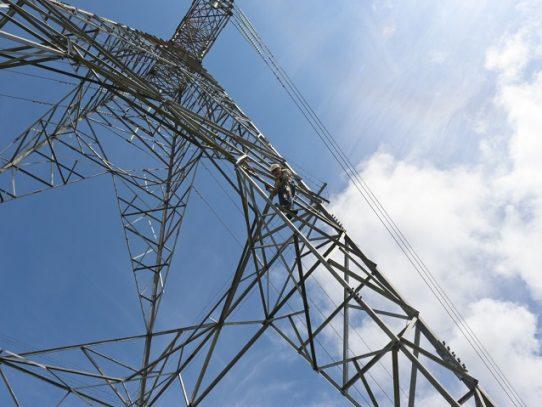 Al menos 67 toneladas de piezas se reemplazaron en la Red de Transmisión Eléctrica