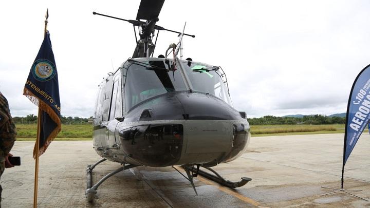 Panamá refuerza seguridad fronteriza con tres helicópteros en Darién