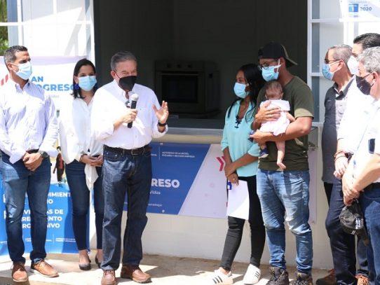 Presidente Cortizo y ministro Paredes lanzan Plan Progreso en Capira