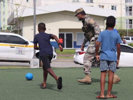 Niños y jóvenes de Colón se inscriben en proyecto social del Minseg