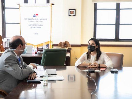 Ministra de Gobierno y Defensor del Pueblo evalúan situación del sistema penitenciario