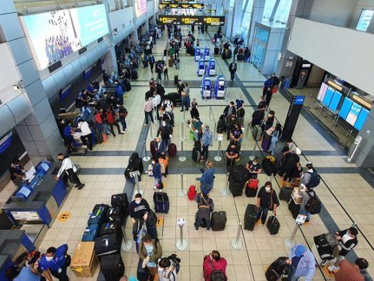 Aeropuerto Internacional de Tocumen movilizó54,041 pasajeros en ocho días