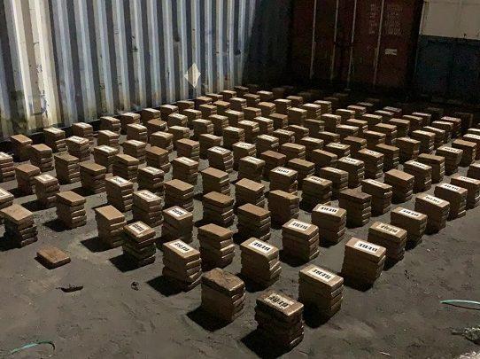 Estamentos de seguridad han decomisando 59 toneladas de droga