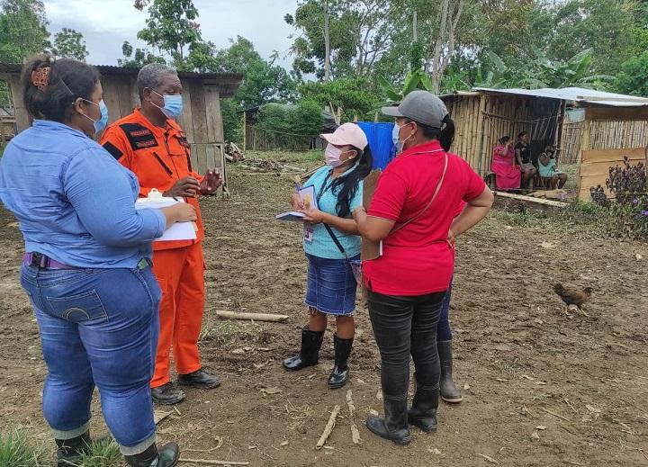 Miviot evalúa afectaciones por lluvias en la provincia de Bocas del Toro
