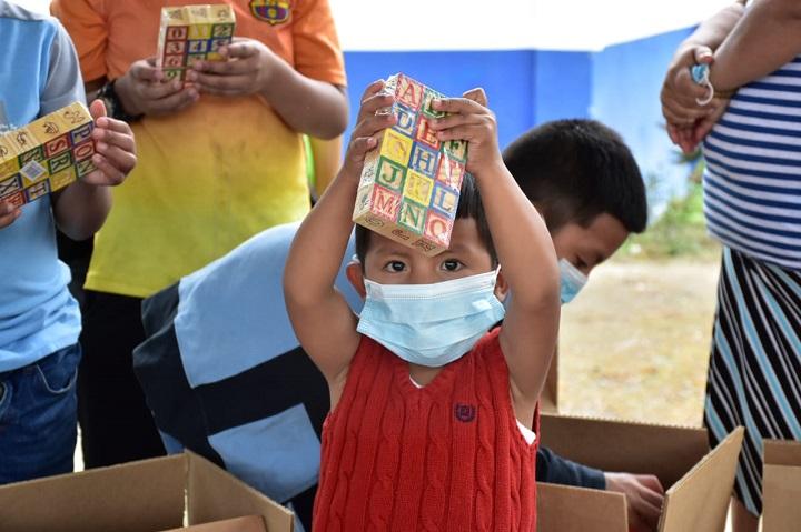 MIDES brinda asistencia psicosocial a niños y niñas afectados por las inundaciones