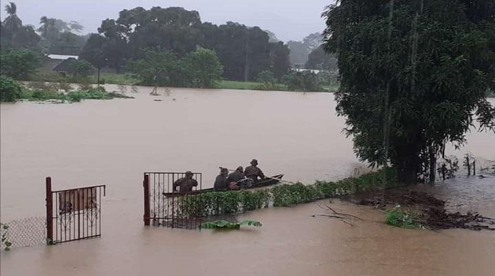 FTC se encuentra en Darién para evaluar el impacto de desborde del río Sábalo