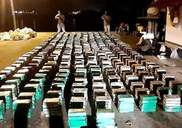 Incautan 1,713 paquetes con droga en la comarca Guna Yala