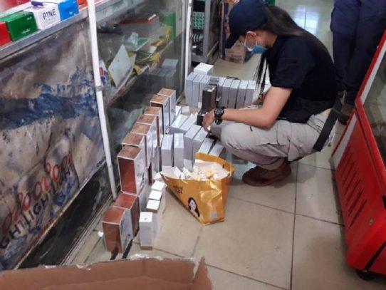 Aduanas da duro golpe al contrabando de productos en la Zona Central y Azuero