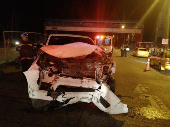 Dos muertos por accidente de tránsito en Pacora