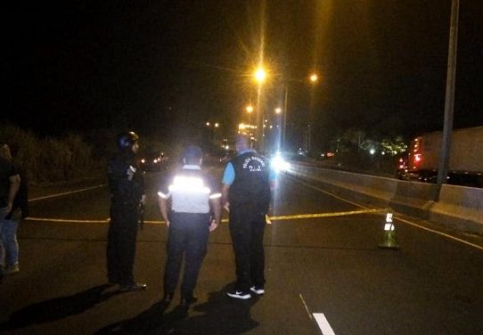 Triple homicidio en la autopista Arraiján -  La Chorrera
