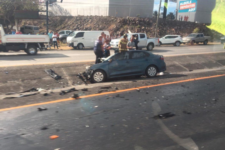 Dos muertos y un herido dejó aparatoso accidente en Chame