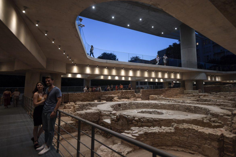 El Museo de la Acrópolis en Grecia celebra 10 años con nueva ampliación