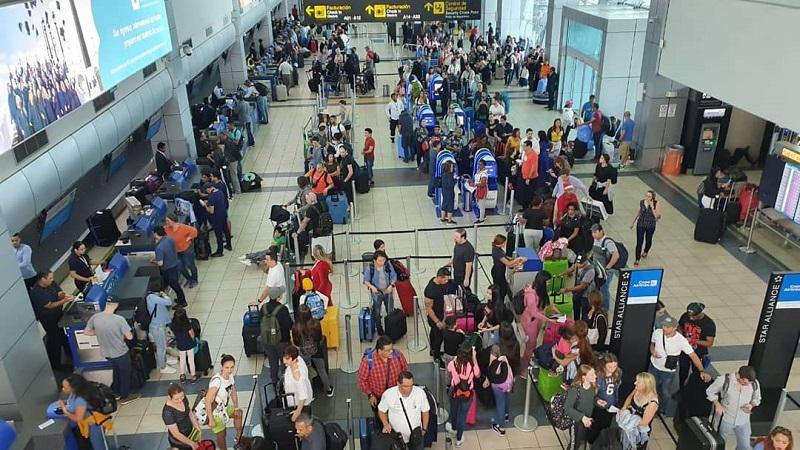 Aeropuerto de Tocumen proyecta movilizar 824,973 pasajeros entre el 15 al 30 de diciembre