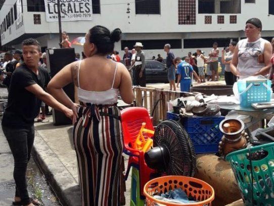 Quince familias afectadas por incendio en El Chorrillo