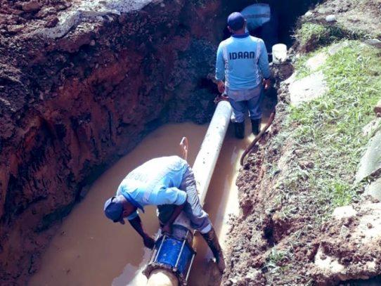 Suministro de agua se restablecerá paulatinamente en Arraiján