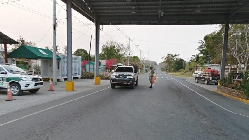 Dos autobuses pretendían ingresar 80 personas sin salvoconducto a Darién