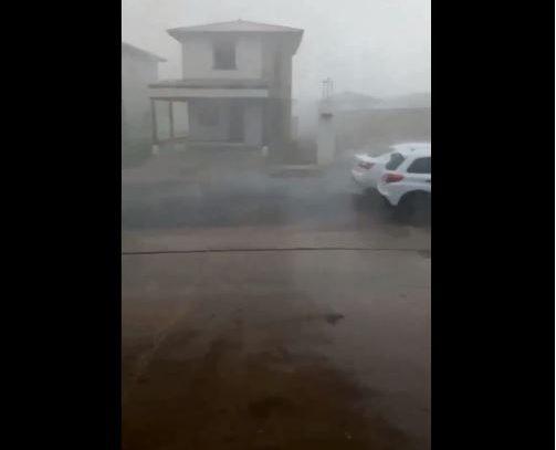 Lluvia con granizo cayó sobre varios sectores de Panamá Oeste