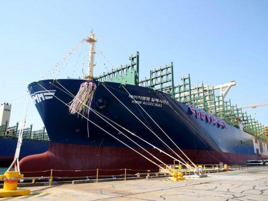 Nuevo portacontenedor más grande del mundo se une a flota panameña