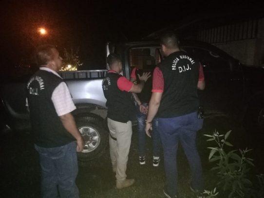 Capturan a presunto responsable de homicidio ocurrido en una gallera en Chiriquí
