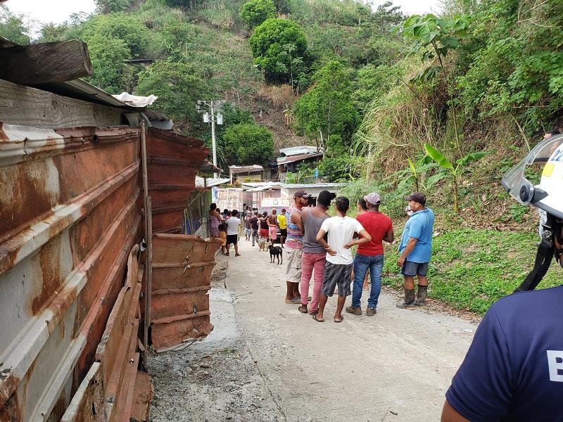 Alud de tierra deja dos víctimas fatales en Villa María