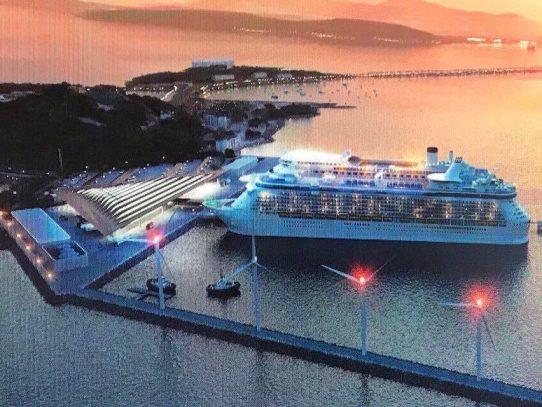 Suspenden acto público para la operación y mantenimiento de la terminal de cruceros
