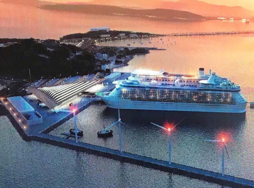 Terminal de Cruceros en Amador iniciará operaciones en octubre