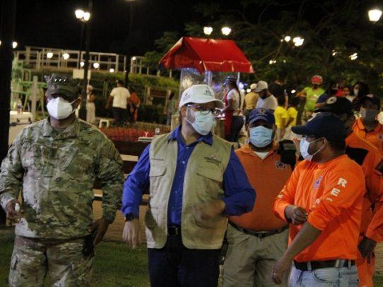 Sancionan a participantes de una reunión en la Calzada de Amador