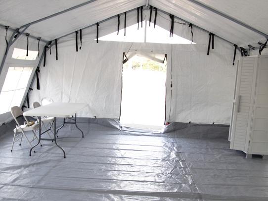 Centro de toma de muestras de COVID-19 es instalado en Amador