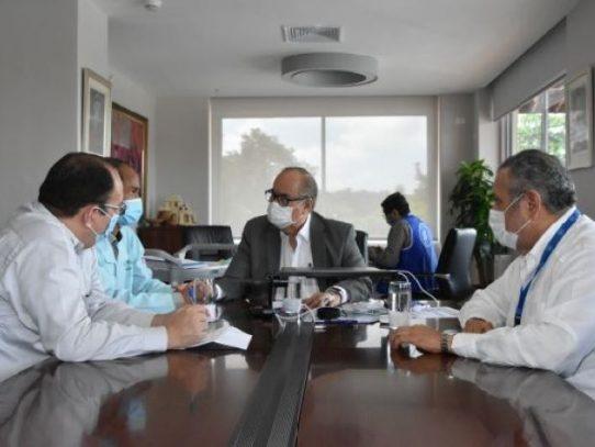 Lau Cortés busca llegar a consensos con dirigentes de la Amoacss