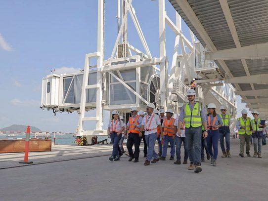 Puerto de Cruceros de Panamá registra un 74% de avance en su construcción