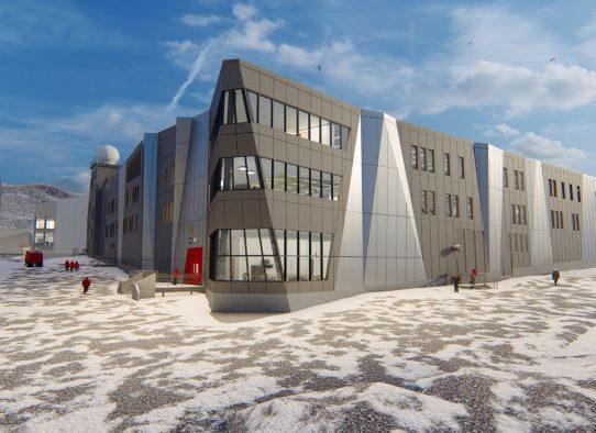 La arquitectura más genial de la tierra está en la Antártida