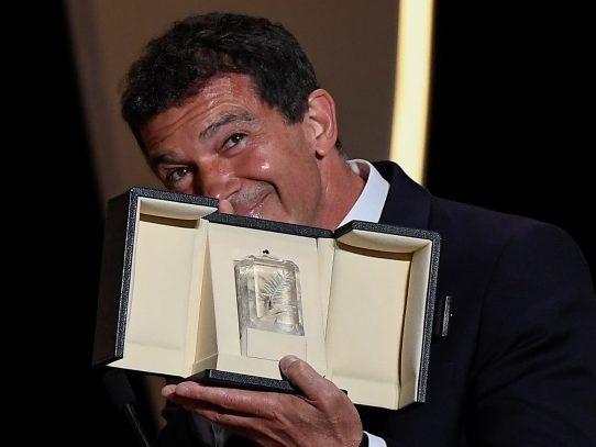 Antonio Banderas, premio a la mejor interpretación masculina en Cannes