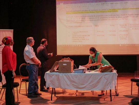Ministerio de Cultura abre acto de licitación para la Aduana de Portobelo