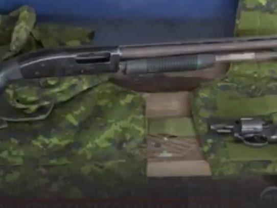 Entregan armas por un empleo en San Miguelito