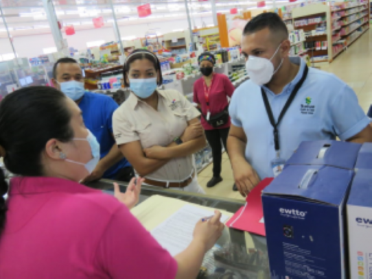 Minsa multa a supermercados en Arraiján por incumplir medidas contra el Covid-19