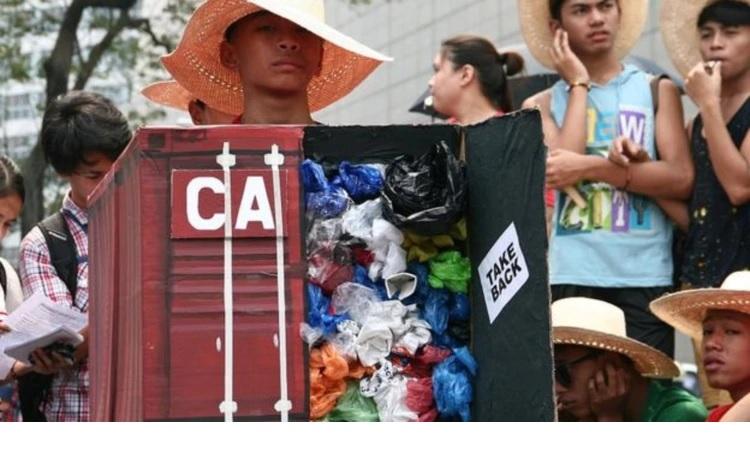 Los desechos de plástico occidentales ya no son bienvenidos en Asia