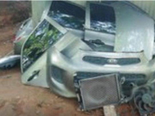 Ubican en Rana de Oro un auto con denuncia de hurto