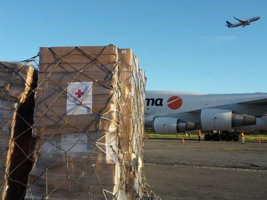 Cruz Roja envía a Venezuela tercer cargamento de ayuda humanitaria