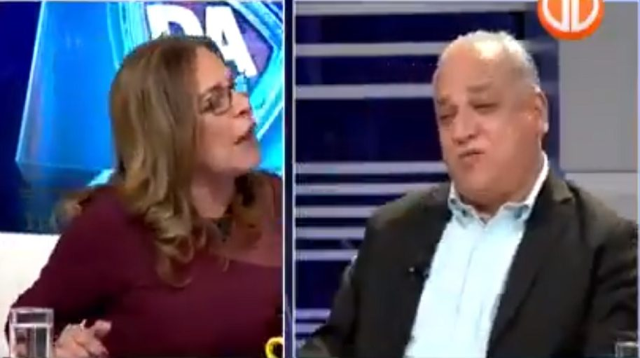 "Balbina descarga contra Camacho y le grita en TV abierta ""eres un lambón"""