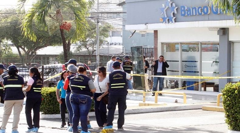 Condenas de 18 y 10 años de prisión por robo y homicidio en Banco General