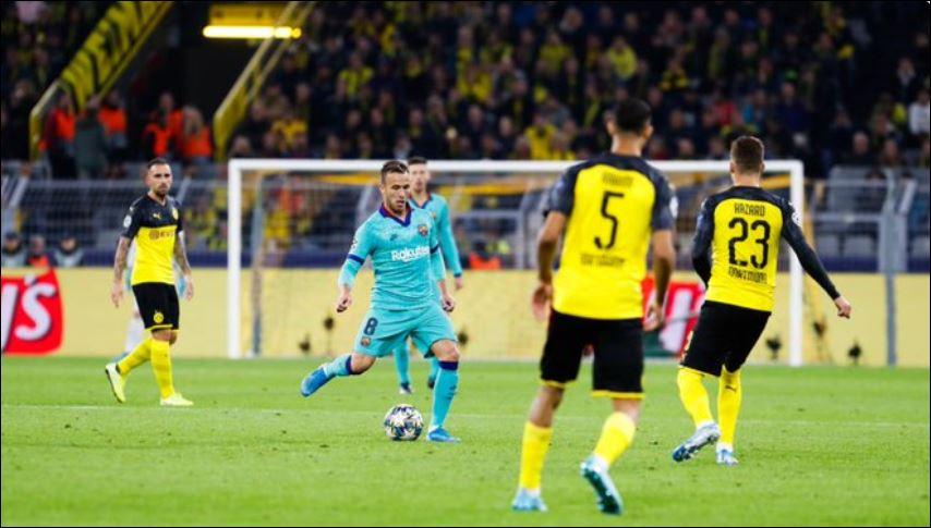 Ter Stegen permite al Barça empatar en Dortmund en el regreso de Messi