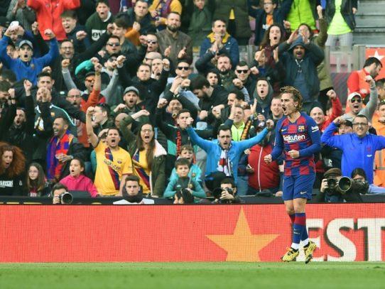 Barcelona gana 2-1 al Getafe y alcanza al Real Madrid