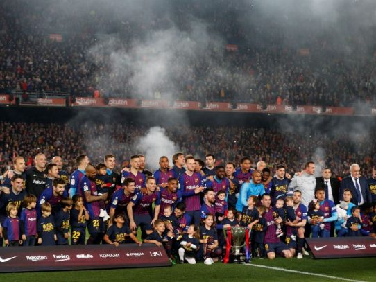 El Barça de Messi reina sobre la Liga