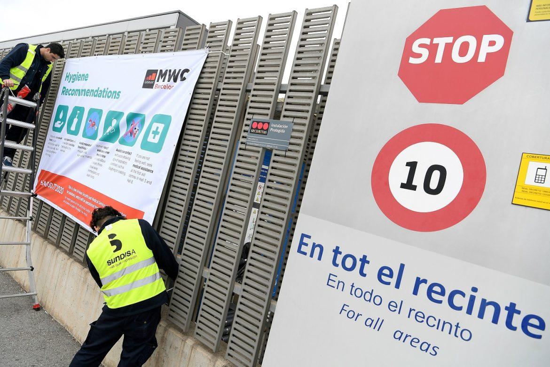 Cancelan congreso de la telefonía móvil de Barcelona por el coronavirus