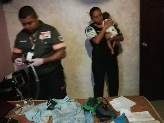 Bebé abandonado en pensión de Calidonia fue llevado al Hospital del Niño