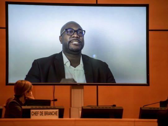 Hermano de George Floyd pide ayuda a la ONU, Bachelet aboga por reparaciones