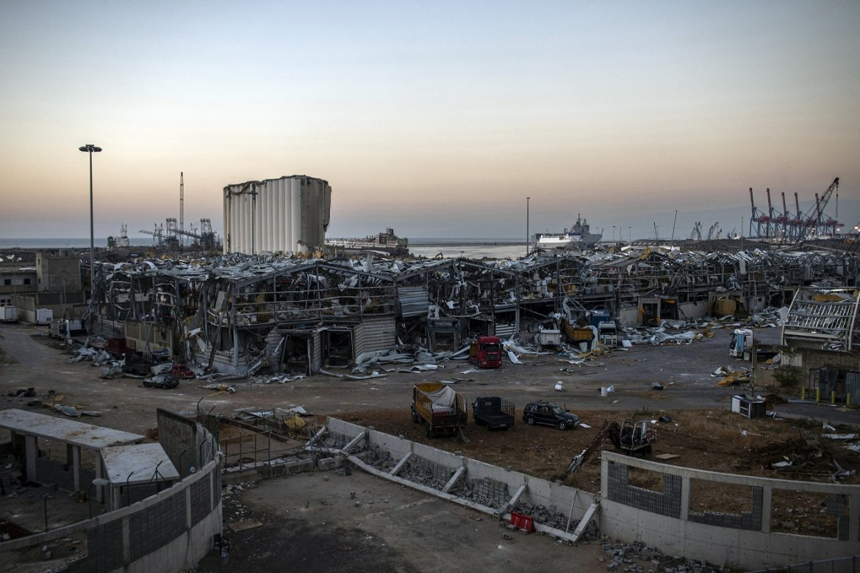 Cómo se juntaron los componentes de una enorme bomba en el puerto de Beirut